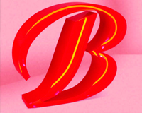 Неоновые буквы
