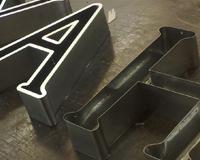 Буквы из алюминия сварные